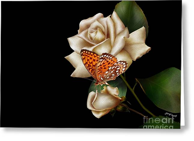 Purity Greeting Card by Cheryl Young