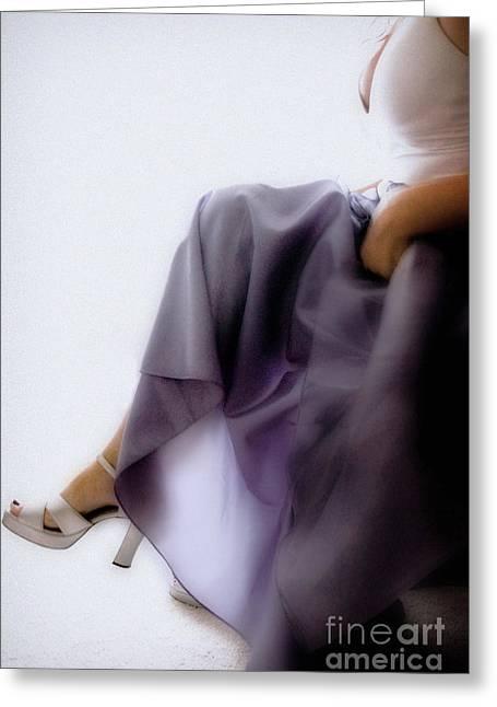 Jill Hyland Greeting Cards - Purple Dream Greeting Card by Jill Hyland
