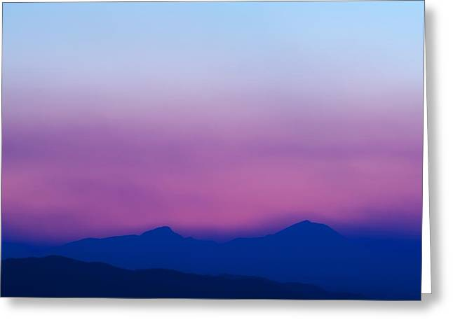 Sunset Posters Greeting Cards - Purple Haze Greeting Card by Kevin Bone