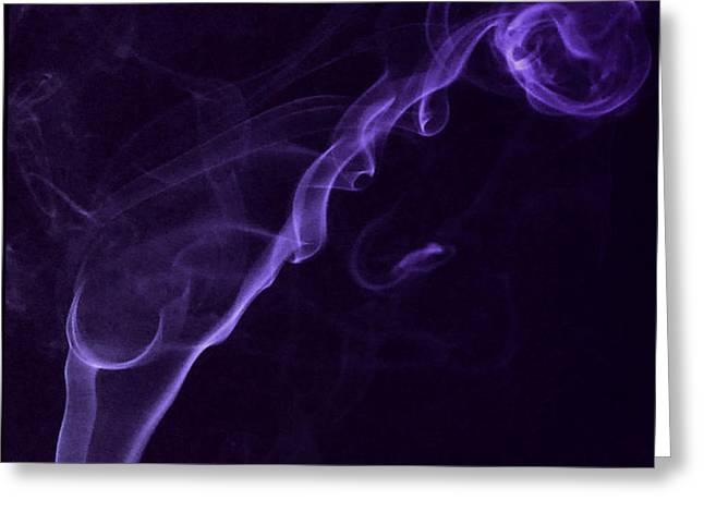 Purple Haze Greeting Card by Paul Ward