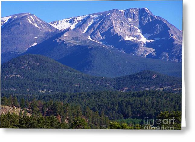 Holdorf Greeting Cards - Purple Mountains Majesty Greeting Card by Kurt Holdorf