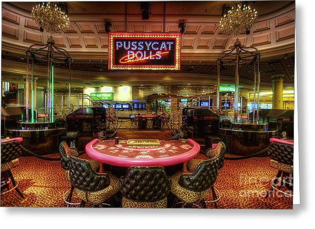 Las Vegas Art Greeting Cards - Pussycat Dolls Greeting Card by Yhun Suarez