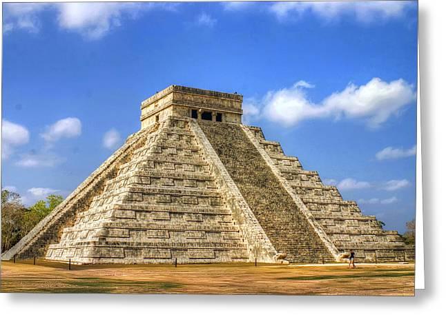 Pyramids Greeting Cards - Pyramid Greeting Card by Dolly Sanchez