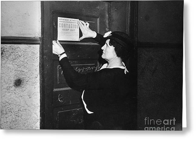 Public Health Greeting Cards - Quarantine Greeting Card by Photo Researchers