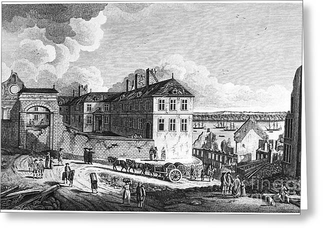 QUEBEC: RUINS, 1761 Greeting Card by Granger