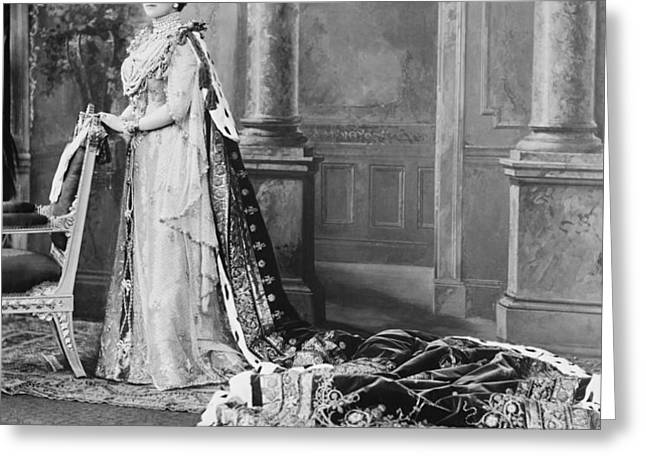 Queen Alexandra, 1902 Greeting Card by Omikron