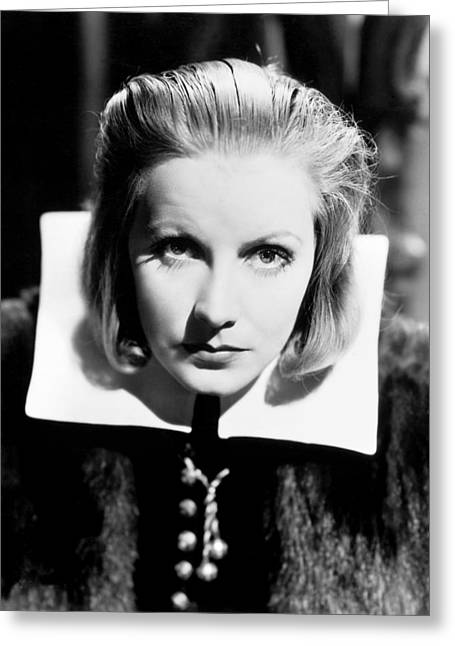 1933 Movies Greeting Cards - Queen Christina, 1933 Greeting Card by Granger