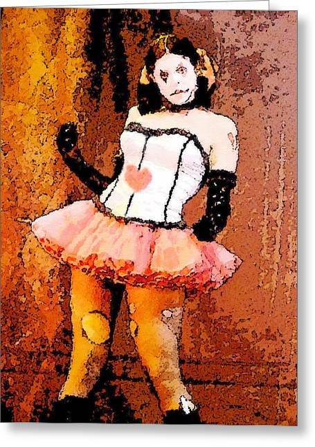 Ballerina Artwork Greeting Cards - Queen of Hearts Greeting Card by David Lee Thompson