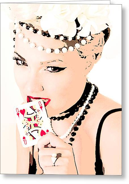 Queen Of Queens Greeting Card by Tbone Oliver