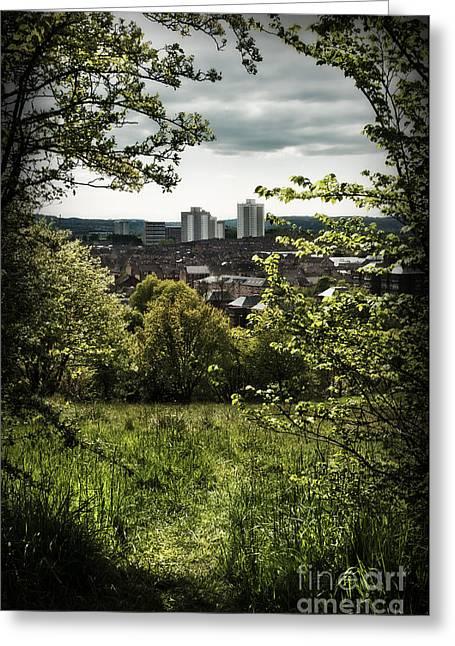 Queenspark Greeting Cards - Queenspark Greeting Card by Dominique De Leeuw