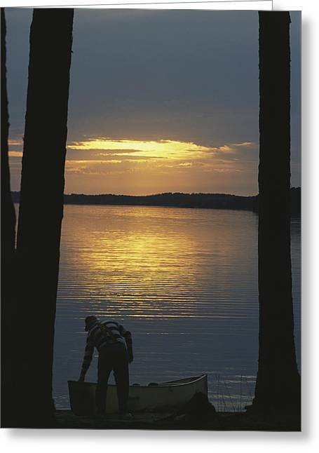 Park Scene Greeting Cards - Quetico-superior Wilderness Area Greeting Card by Michael S. Lewis