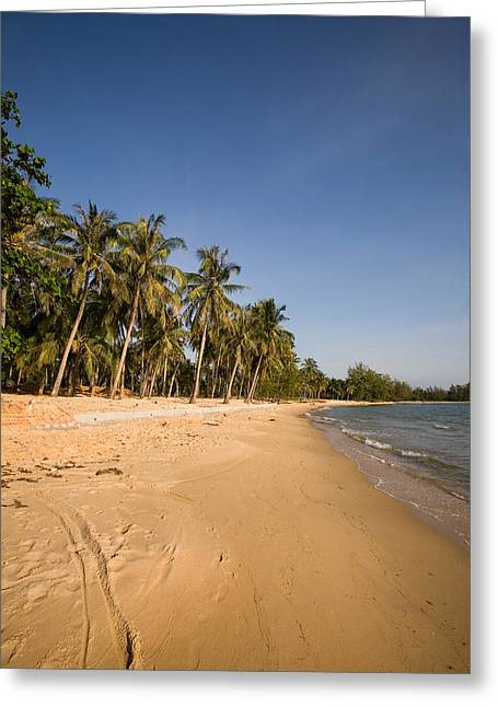 Mango Greeting Cards - Quiet Ong Lang Beach Is Unspoiled Greeting Card by Michael S. Lewis