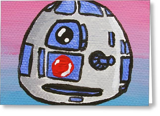 R2-D2 Greeting Card by Jera Sky