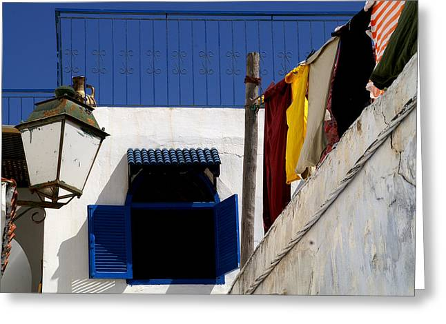 Rabat Photographs Greeting Cards - Rabat Morocco Greeting Card by Peter Verdnik