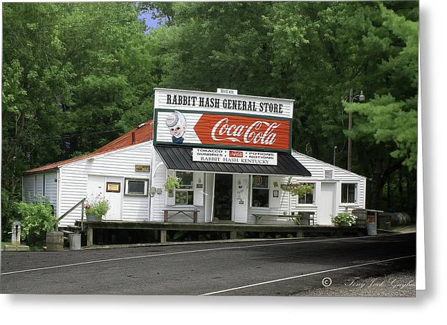 Boone County Greeting Cards - Rabbit Hash Greeting Card by Tony Gayhart