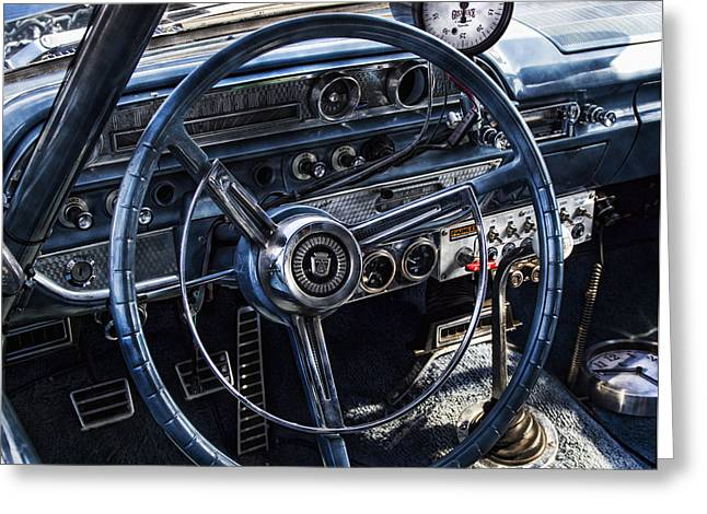 Gauge Greeting Cards - Race Ready Greeting Card by Peter Chilelli
