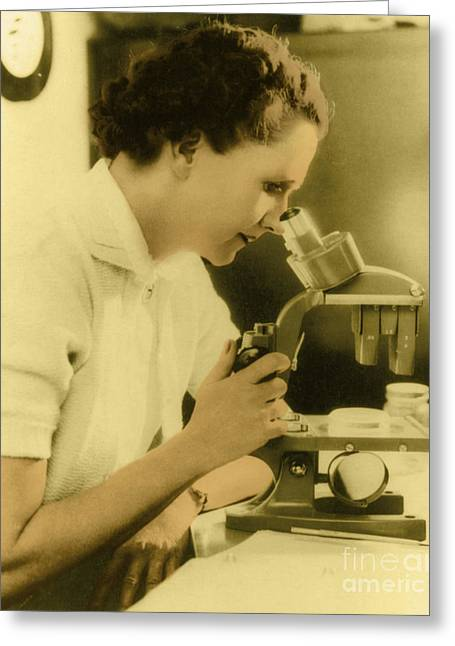 Rachel Carson Greeting Cards - Rachel Carson, American Marine Biologist Greeting Card by Science Source