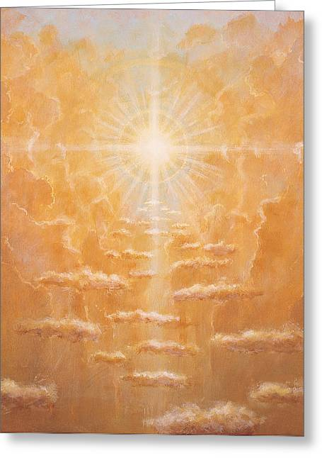Radiance Greeting Cards - Radiance  Greeting Card by Simon Cook