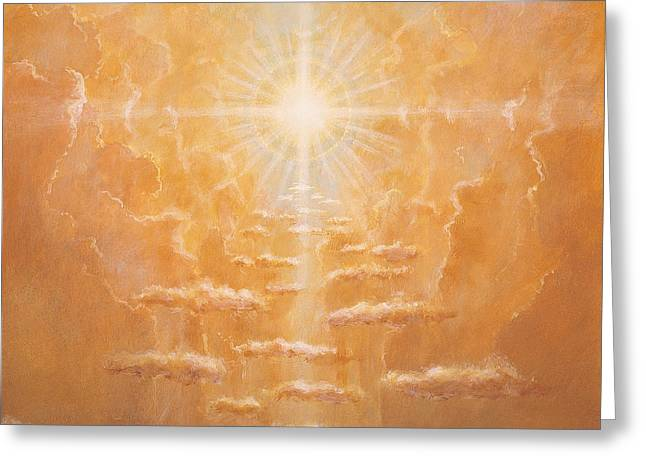 Radiance  Greeting Card by Simon Cook