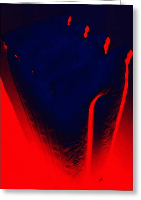 Radiator By Dante Greeting Card by Randall Weidner