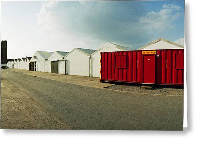 Raf Greeting Cards - RAF Dumfries Technical Section Greeting Card by Jan Faul