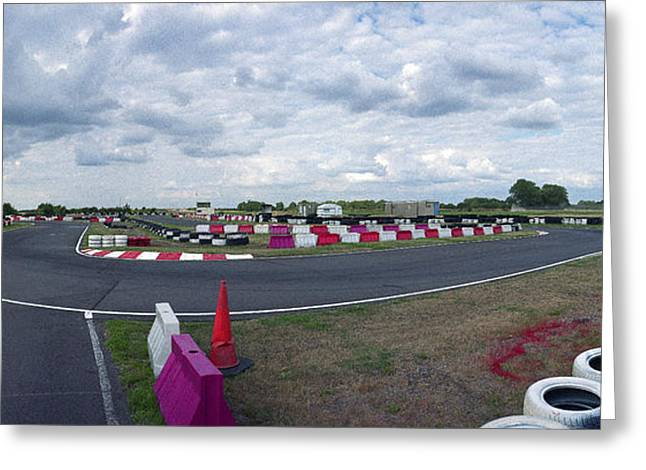 Raf Fulbeck Taxiway Greeting Card by Jan Faul