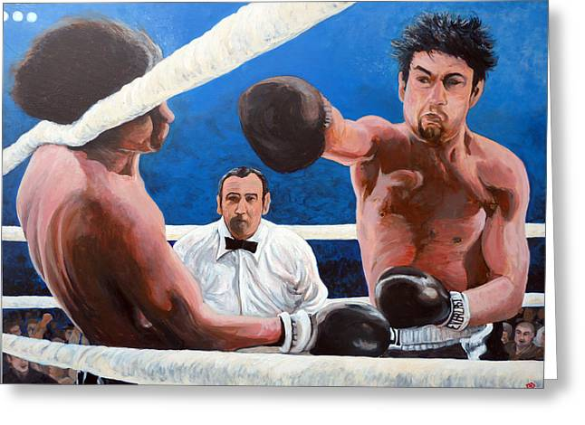 Tom Roderick Greeting Cards - Raging Bull Greeting Card by Tom Roderick