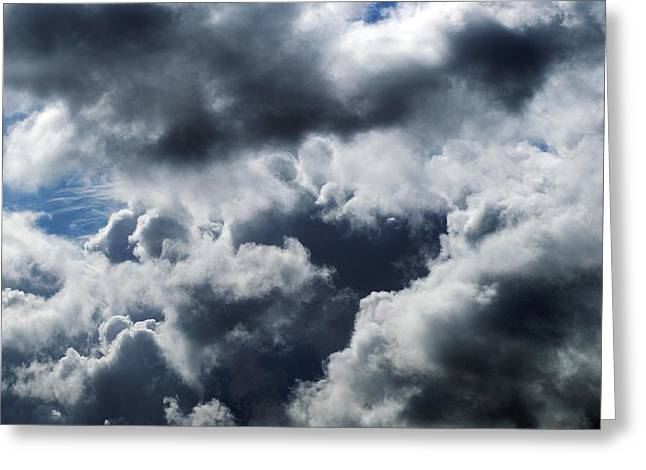 Nimbus Greeting Cards - Rain Clouds Greeting Card by Detlev Van Ravenswaay