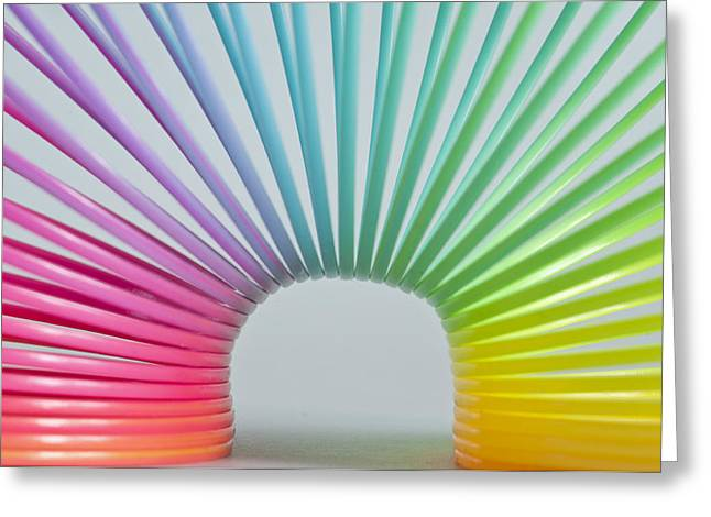 Rainbow 2 Greeting Card by Steve Purnell