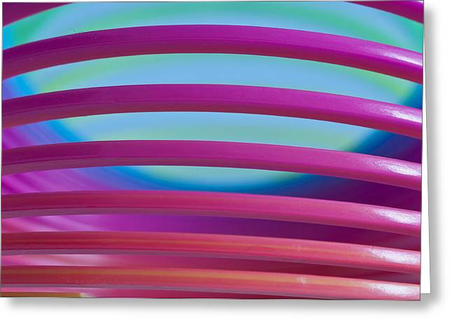 Rainbow 4 Greeting Card by Steve Purnell