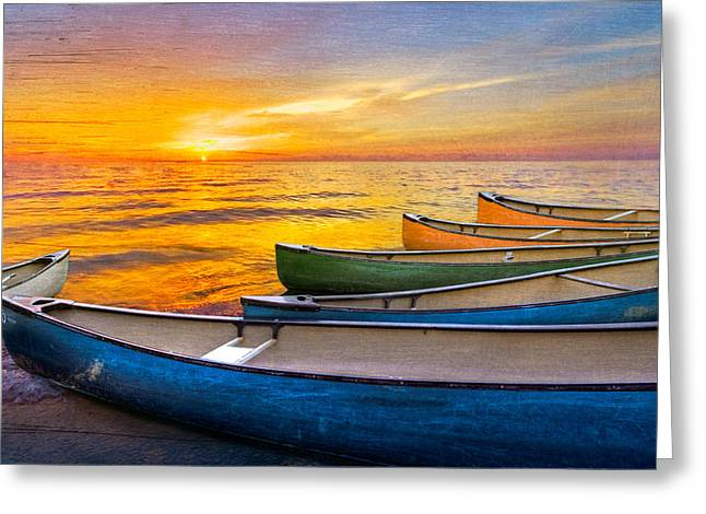 Delray Beach Greeting Cards - Rainbow Armada Greeting Card by Debra and Dave Vanderlaan