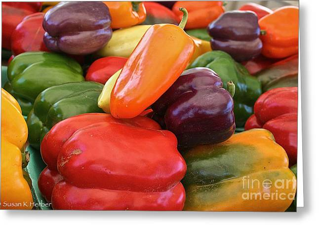 Minnesota Grown Photographs Greeting Cards - Rainbow Bells Greeting Card by Susan Herber