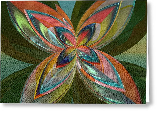 Incendia Greeting Cards - Rainbow Of Colors Greeting Card by Deborah Benoit