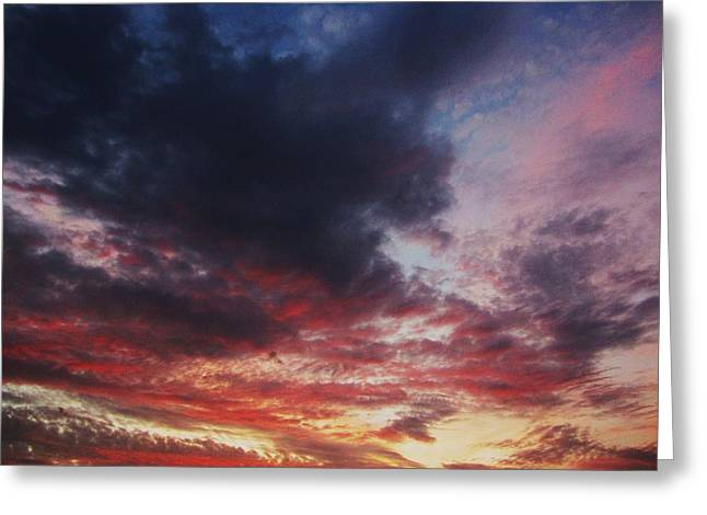 Todd Sherlock Greeting Cards - Rainbow Sky Greeting Card by Todd Sherlock