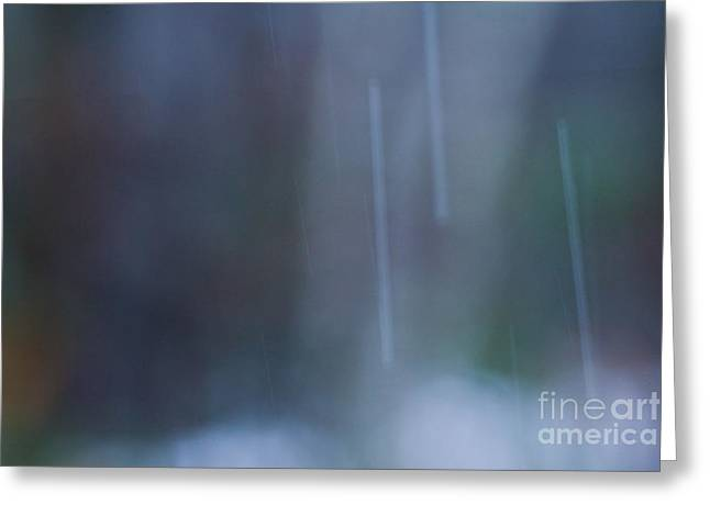 Sue Oconnor Greeting Cards - Rainy Day Greeting Card by Sue OConnor