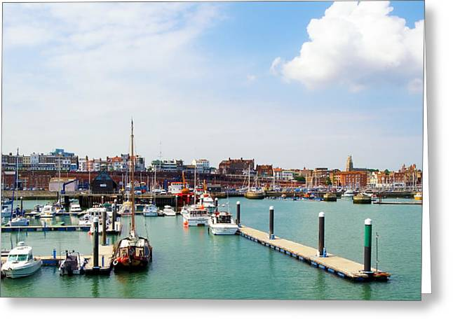 D200 Greeting Cards - Ramsgate Marina Greeting Card by Michael Stretton