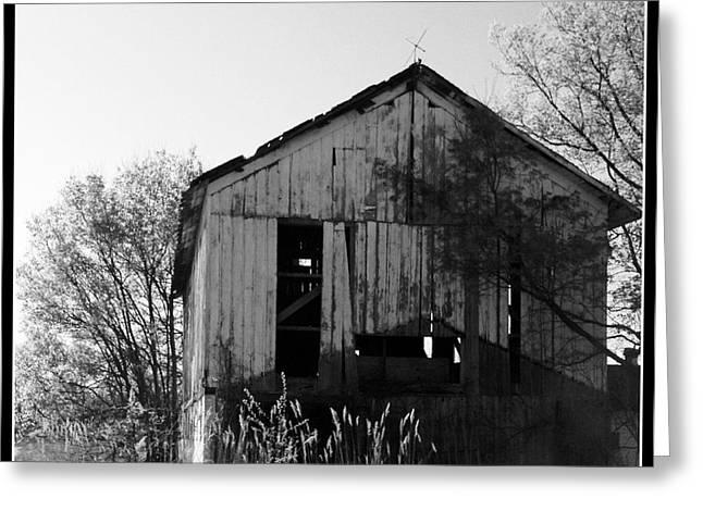 Rural Indiana Greeting Cards - Ramshackle Greeting Card by Lora Mercado