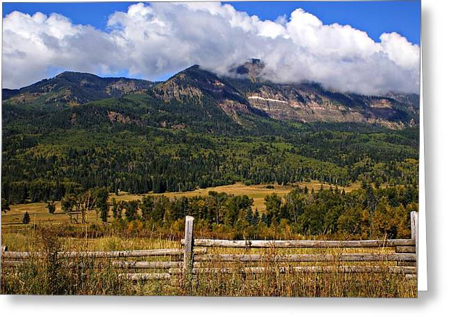 Ranchland Greeting Card by Marty Koch