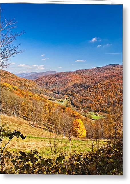 Randolph County Greeting Cards - Randolph County West Virginia Greeting Card by Steve Harrington