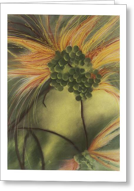 Berry Pastels Greeting Cards - Random Thoughts Greeting Card by Dru Stefan Stone