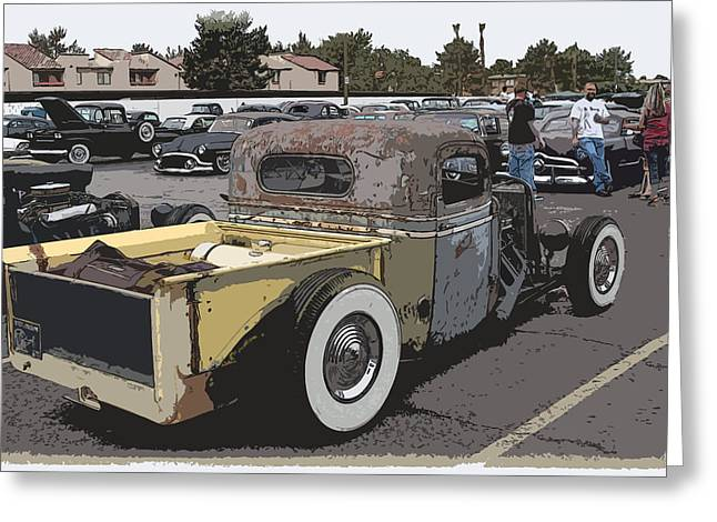 Best Sellers -  - 1949 Plymouth Greeting Cards - Rat Truck Greeting Card by Steve McKinzie
