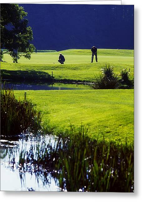 Golfcourse Greeting Cards - Rathsallagh Golf Club, Co Wicklow Greeting Card by The Irish Image Collection