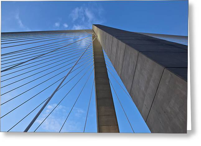 Donny Greeting Cards - Ravenel Overhead Day - Horizontal Greeting Card by Donni Mac