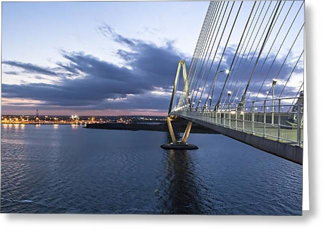 Donny Greeting Cards - Ravenel West - Panoramic Greeting Card by Donni Mac