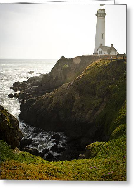 Ray Of Light Greeting Card by Heather Applegate