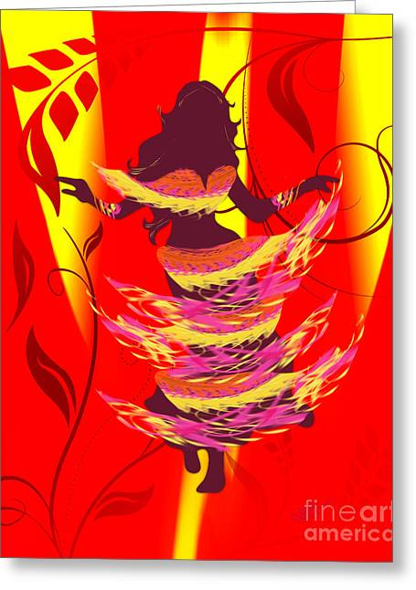 Linda Seacord Greeting Cards - Rayjii Greeting Card by Linda Seacord