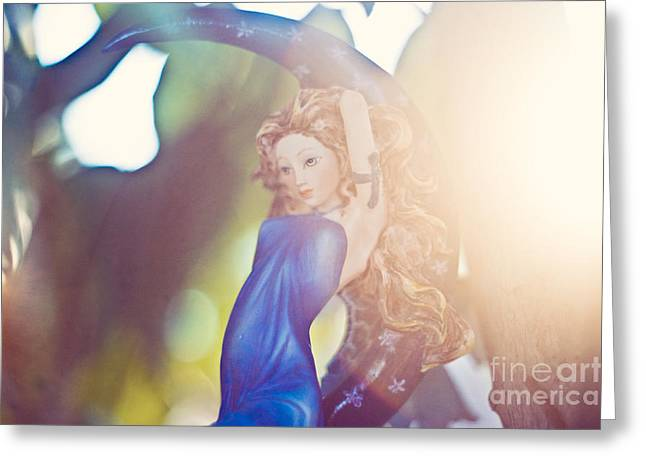 Rays of the sun Greeting Card by Angelina Cornidez