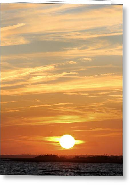Ocean Scenes Digital Art Greeting Cards - Reach for the Sky 6 Greeting Card by Mike McGlothlen