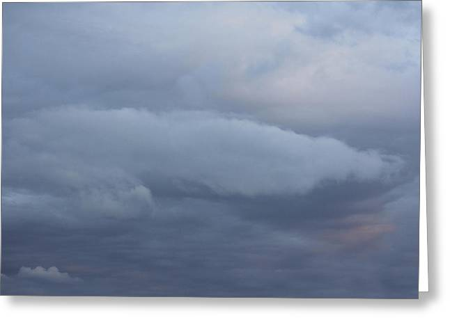 Storm Clouds Digital Art Greeting Cards - Reach for the Sky 8 Greeting Card by Mike McGlothlen