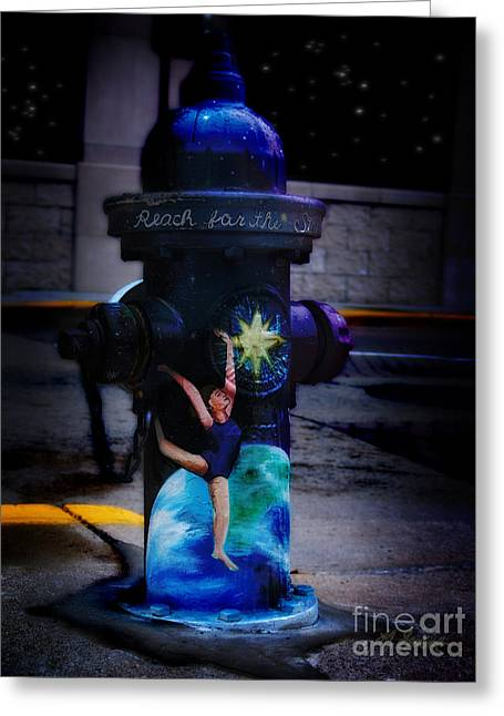 Star Stuff Greeting Cards - Reach for The Stars. Greeting Card by Lj Lambert